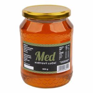 Číhala Med květový luční 900 g